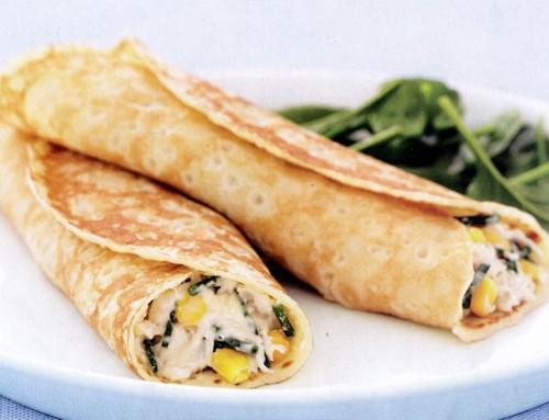 ساندویچ رژیمی برنج و سبزیجات