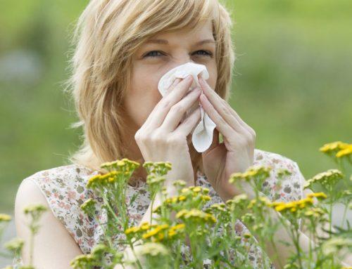 درمان خانگی آلرژی